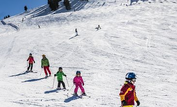Ellmau family ski days March 2019
